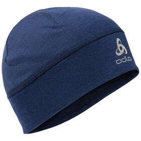 Odlo Yak X-Warm Bonnet, estate blue melange